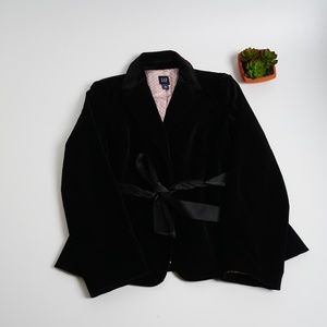 ‼️ Flash Sale ‼️ GAP Velvet Tie Blazer